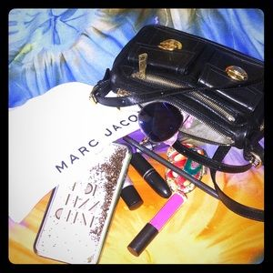 Marc Jacobs Leather Metro Crossbody Bag